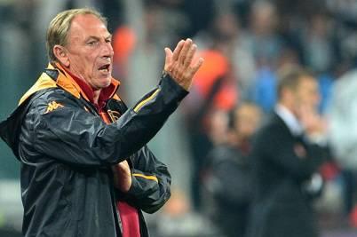 Il tecnico della Roma Zdenek Zeman (Getty Images)