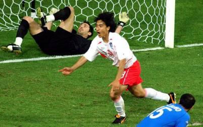 Il coreano Ahn contro l'Italia