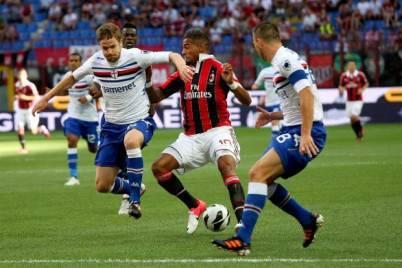 Sampdoria-Milan sullo 0-0