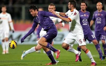 Fiorentina-Roma 0-1