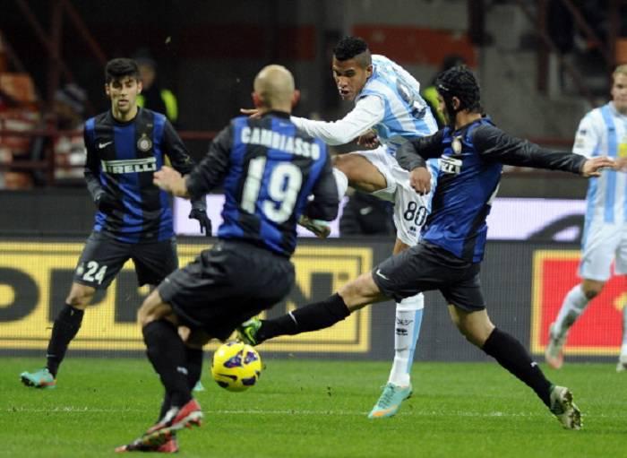 Un momento della gara appena terminata a San Siro tra Inter e Pescara (Getty Images)