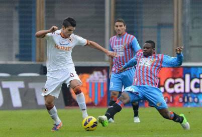 Catania-Roma 1-0