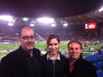 Meis, Young e Boren all'Olimpico