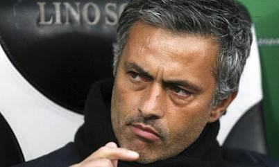 Il tecnico portoghese Josè Mourinho