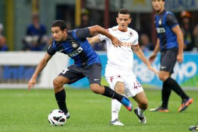 Roma-Inter in campo