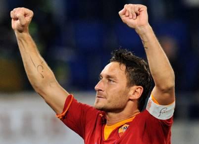 Francesco Totti cerca il primo gol al Massimino