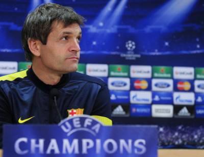 Il tecnico del Barcellona Tito Vilanova (Getty Images)