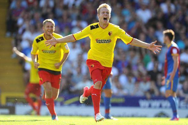 L'attaccante ceco del Watford Vydra