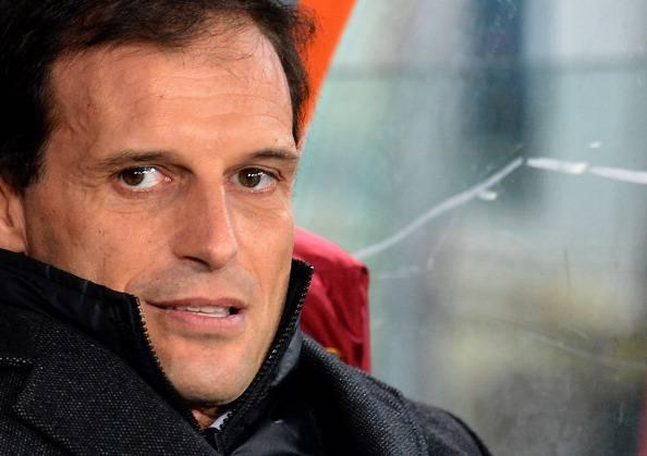 Il tecnico del Milan Massimiliano Allegri