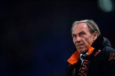 L'ex tecnico della Roma Zdenek Zeman