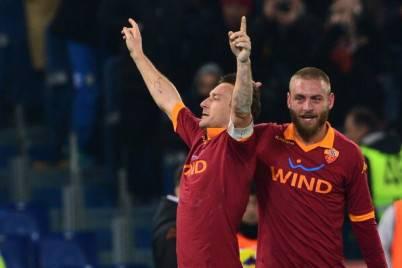 Francesco Totti e Daniele De Rossi