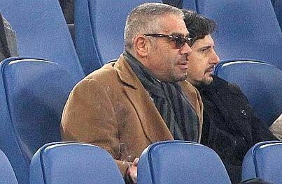 Lo sceicco Al Qaddumi con Michele Padovano