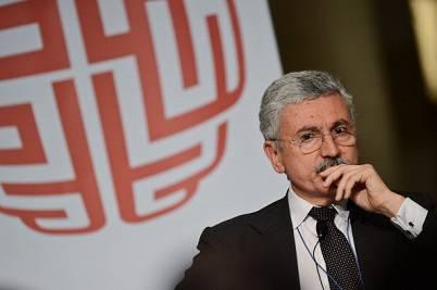 Il politico Massimo D'Alema (Getty Images)