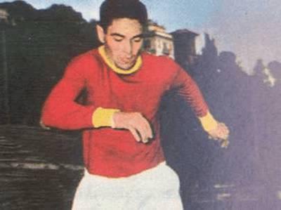 L'ex attaccante giallorosso Dino Da Costa