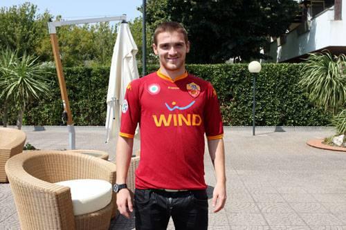 Vitorino Antunes in maglia giallorossa