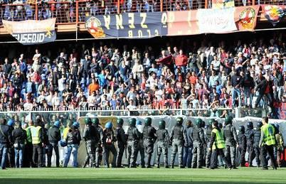 Un'immagine della gara del 22 Aprile 2012