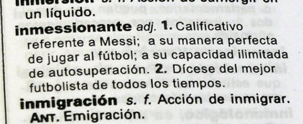 Ecco il nuovo lemma sul vocabolario spagnolo