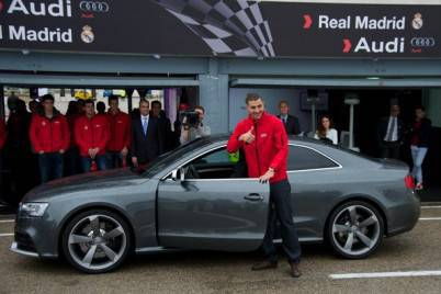 Karim Benzema, partnership party Real Madrid-Audi