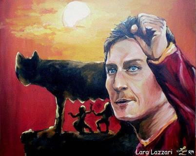 Uno dei quadri dell'artista Lara Lazzari