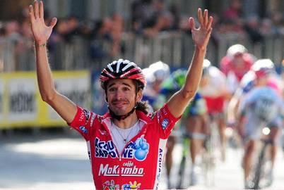 Masciarelli nella sua vittoria all'ultimo Giro del Lazio