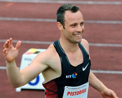 L'atleta Oscar Pistorius