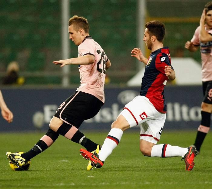 Un'immagine della partita tra Palermo e Genoa (Getty Images)