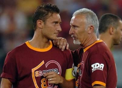 Roberto Pruzzo e Francesco Totti