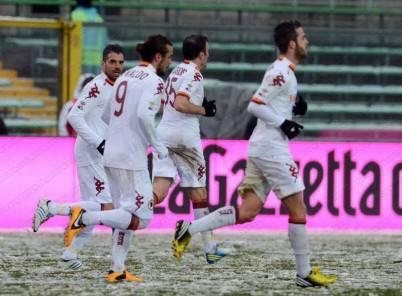 Roma vittoriosa a Bergamo