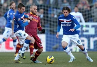 De Rossi contro la Sampdoria