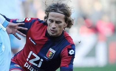 Il giocatore del Genoa Thomas Manfredini