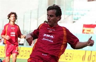L'ex difensore giallorosso Fabio Petruzzi