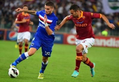 Roma vs. Sampdoria