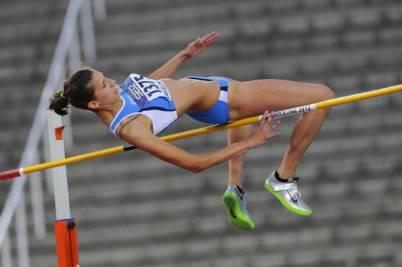La saltatrice Alessia Trost