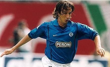 L'ex centrocampista giallorosso Cristiano Scapolo