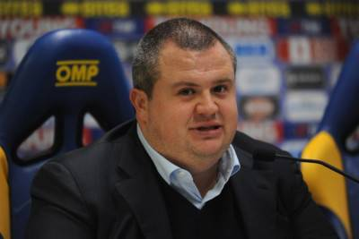 Il presidente del Parma Tommaso Ghirardi