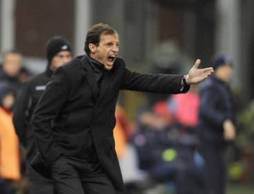 Il tecnico del Milan Massimiliano Allegri (Getty Images)