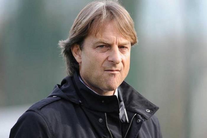 Il tecnico della Primavera della Roma Alberto De Rossi