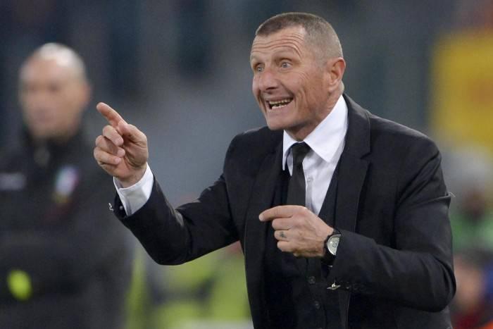 Il tecnico della Roma Aurelio Andreazzoli