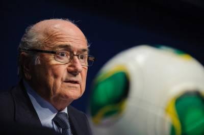 Il presidente della Fifa Joseph Blatter