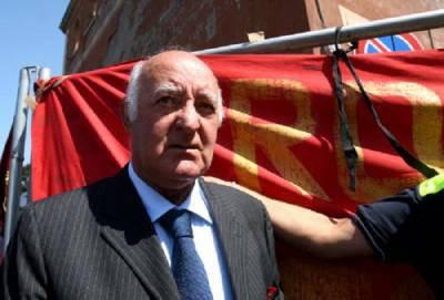 L'ex tecnico giallorosso Carlo Mazzone