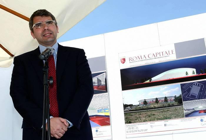 Il delegato alle politiche sportive del Comune di Roma Alessandro Cochi (Getty Images)