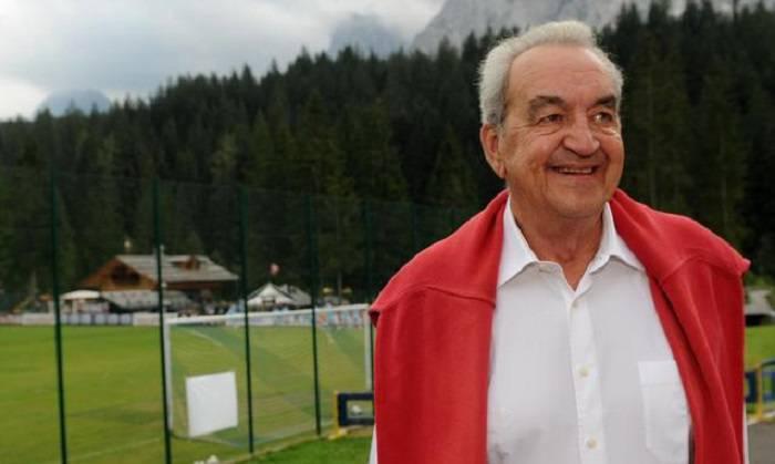 L'ex telecronista Rai Bruno Pizzul