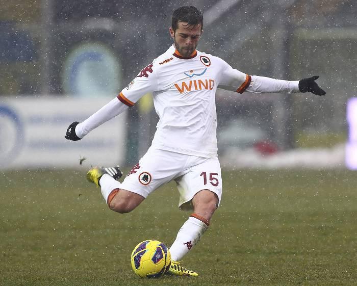 Il centrocampista bosniaco Miralem Pjanic