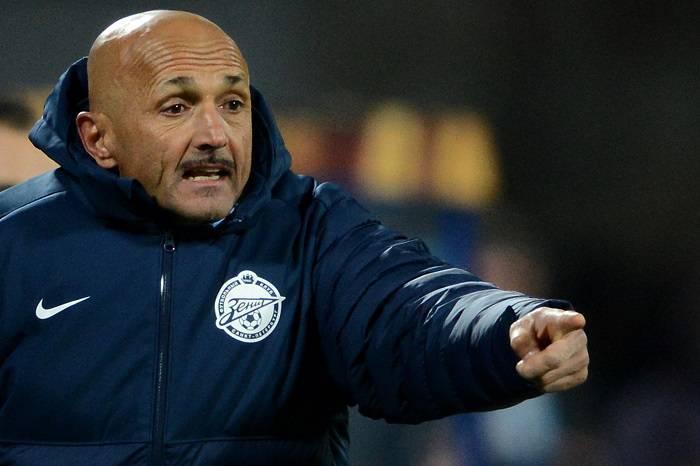 Il tecnico dello Zenit di San Pietroburgo Luciano Spalletti (Getty Images)