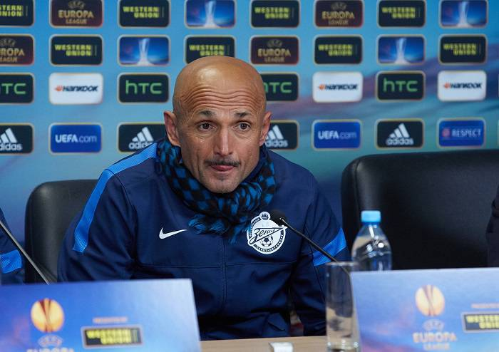 Il tecnico dello Zenit Luciano Spalletti (Getty Images)