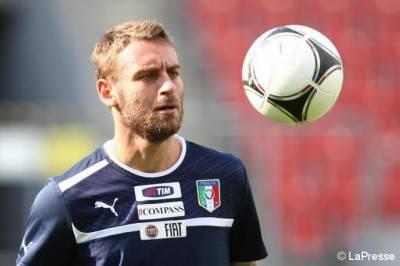 De Rossi con l'Italia