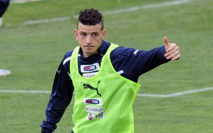 Alessandro Florenzi in azzurro