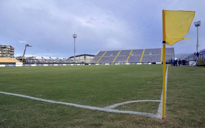 Lo stadio Is Arenas a Quartu Sant'Elena