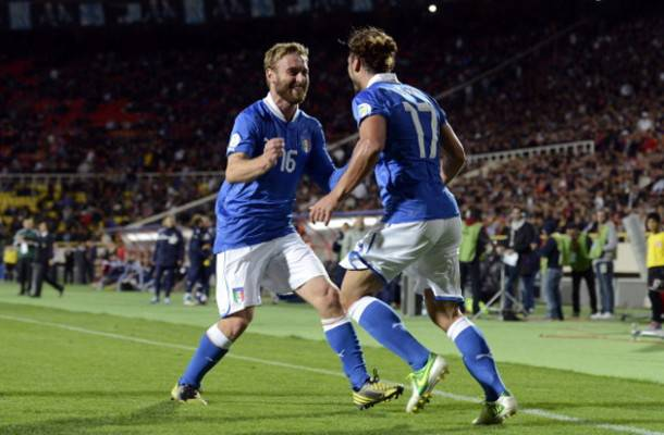 Osvaldo e De Rossi in nazionale