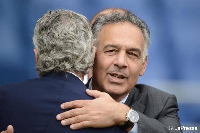 Pallotta abbraccia Baldini